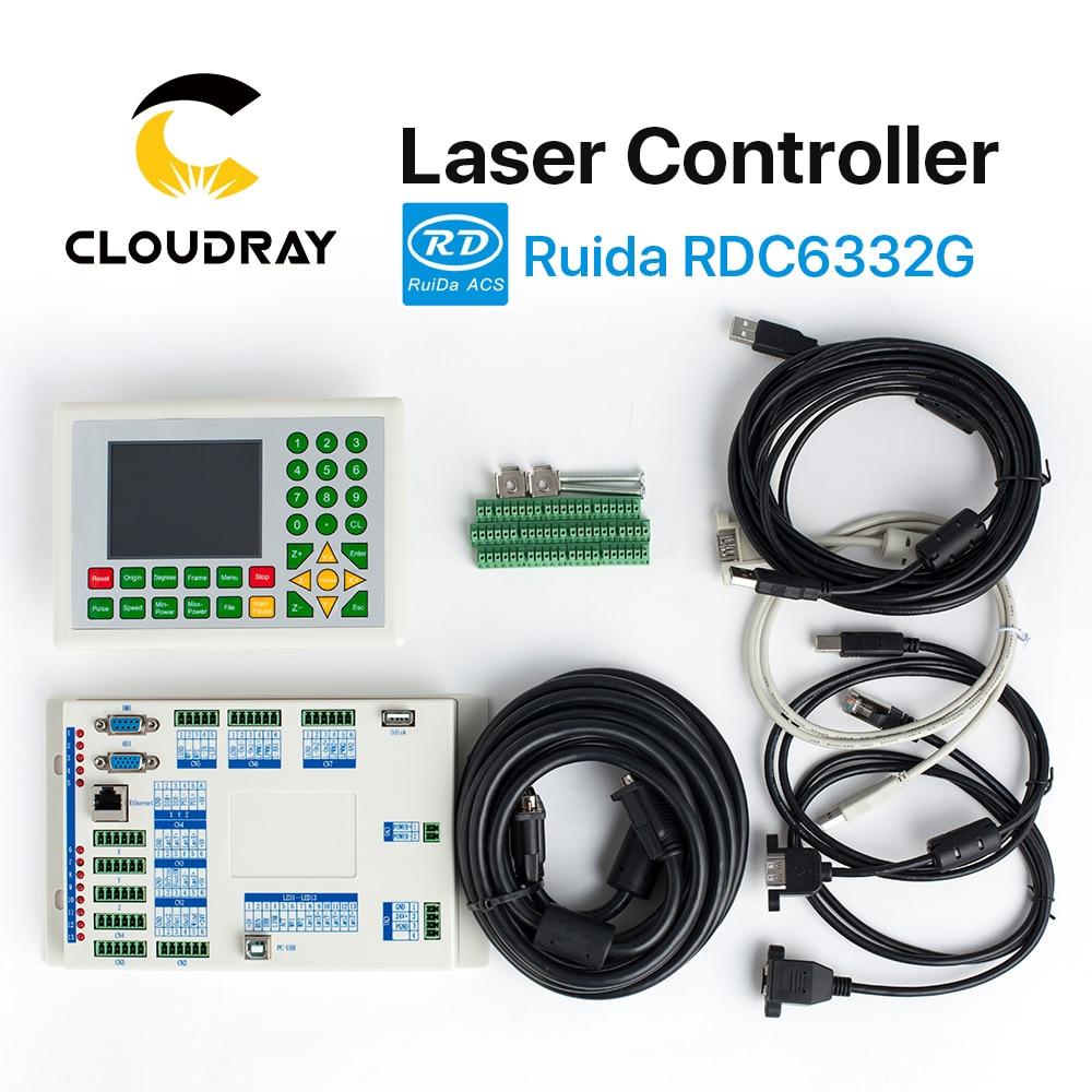 Cloudray Ruida RD RDC6332G 6332M Co2 lézer DSP vezérlő - Famegmunkáló gépek alkatrészei - Fénykép 2