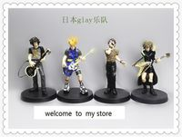 5 Inch Japanese National Band Gl Ay Heavy Rock And Roll Singer Band Guitar Hand Dolls