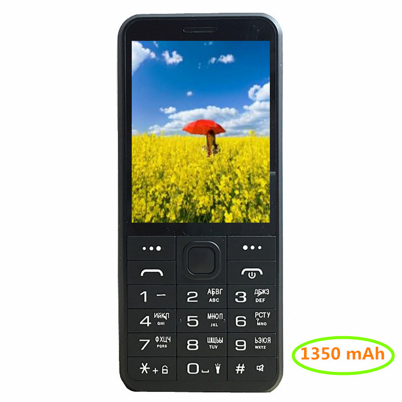 1350 mAh batterie 4 Carte Sim 4 Veille mobile téléphone mp3 gsm chine Téléphone Pas Cher Russe clavier bouton 2017 TÉLÉPHONES H-mobile C10