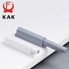 KAK Damper Buffers Kitchen Cabinet Catches Door Stop Drawer Soft Quiet Close with Srews Invisible Handle Home Furniture Hardware cheap CN(Origin) Metalworking KAK -XG-07A Door Catches Door Closer Gray White Kitchen Cupboards Cabinets Door Drawer