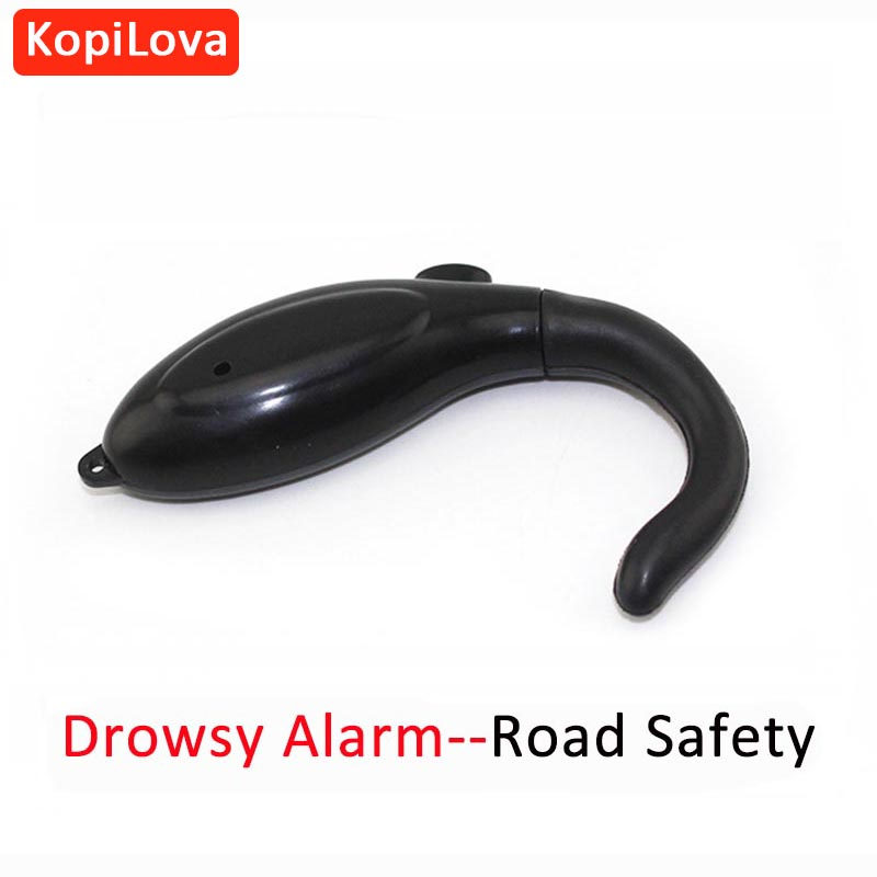 KopiLova Driver Drowsy Alarm Vibrate Alert Anti Sleep Fatigue Alarm Keep Awake Reminder Driver Nap Alarm safe device anti sleep drowsy alarm alert sleepy reminder for car driver to keep awake