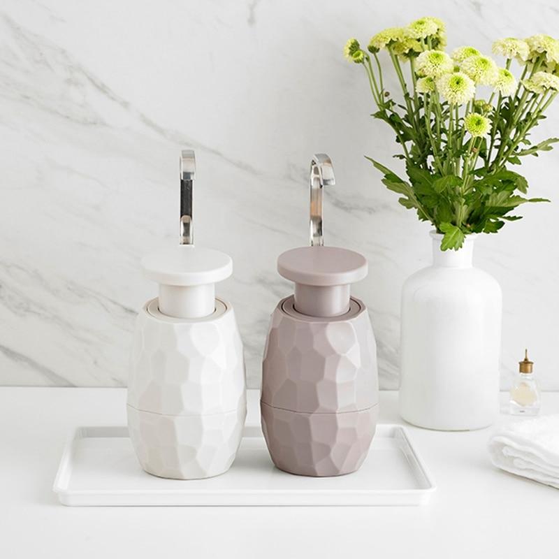 HTB1Q7UzeUGF3KVjSZFmq6zqPXXa3 400Ml Creative One-Hand Soap Dispenser Facial Cleanser Shower Gel Bottle Environmentally Friendly For Home Hotel Bathroom
