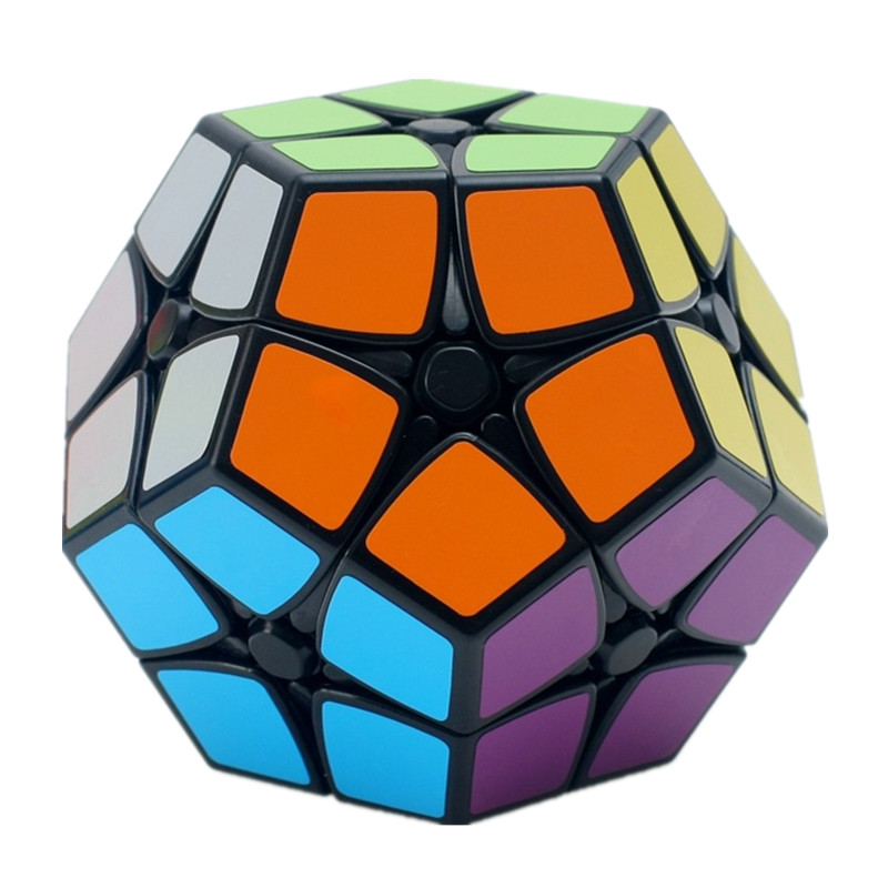 Shengshou Magic cube Speed Puzzle 2x2 Speed Cube Dodecahedron Brain Teaser Kids Toy White And Black Toys for Children diy 3x3x3 brain teaser magic iq cube complete kit black