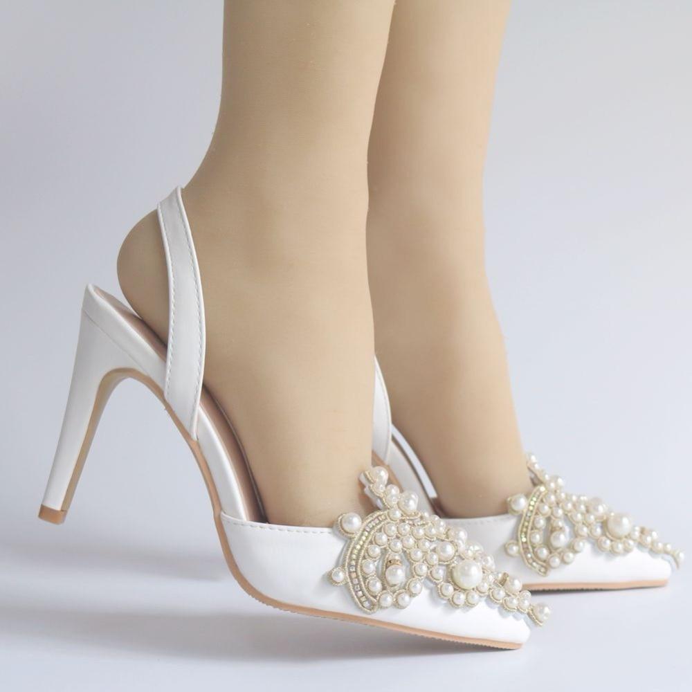 كبير أحذية Queen الكريستال 11