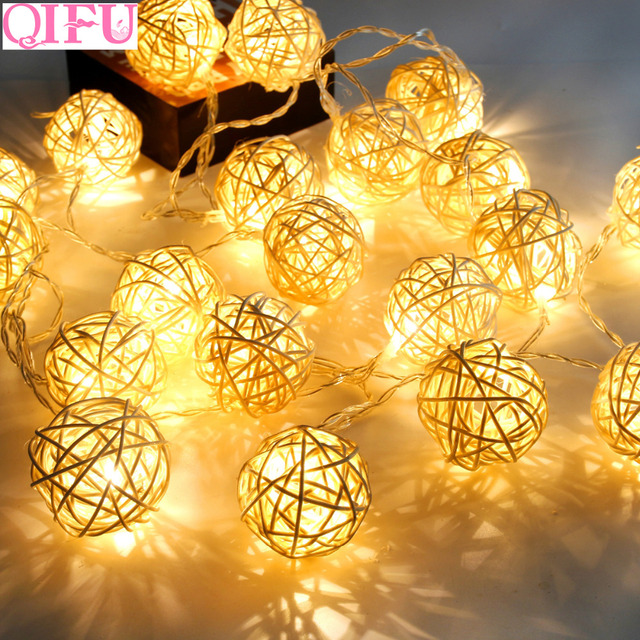 QIFU 2m 5m Wedding Decoration Party Merry Christmas Decoration Christmas 2019 Christmas Decorations for Home Noel New Year 2020