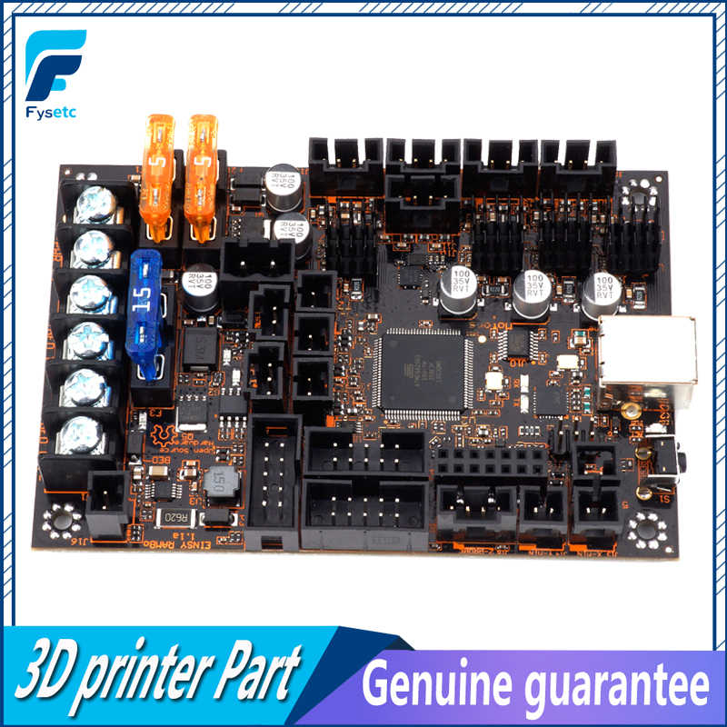 Einsy Rambo 1 1a Mainboard For Prusa i3 MK3 Board With 4 TMC2130 Stepper  Drivers SPI Control 4 Mosfet Switched Outputs