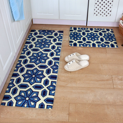 2pcsset bathroom mat set non slip kitchen doormat modern entrance mat tapete hallway area rug in mat from home garden on aliexpresscom alibaba group - Kchen Tapeten Modern