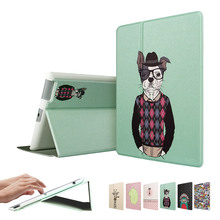ESR Illustrators Series Folio Case Stand with [Auto Wake Up/Sleep Function] Smart Cover iPad 2 3 4