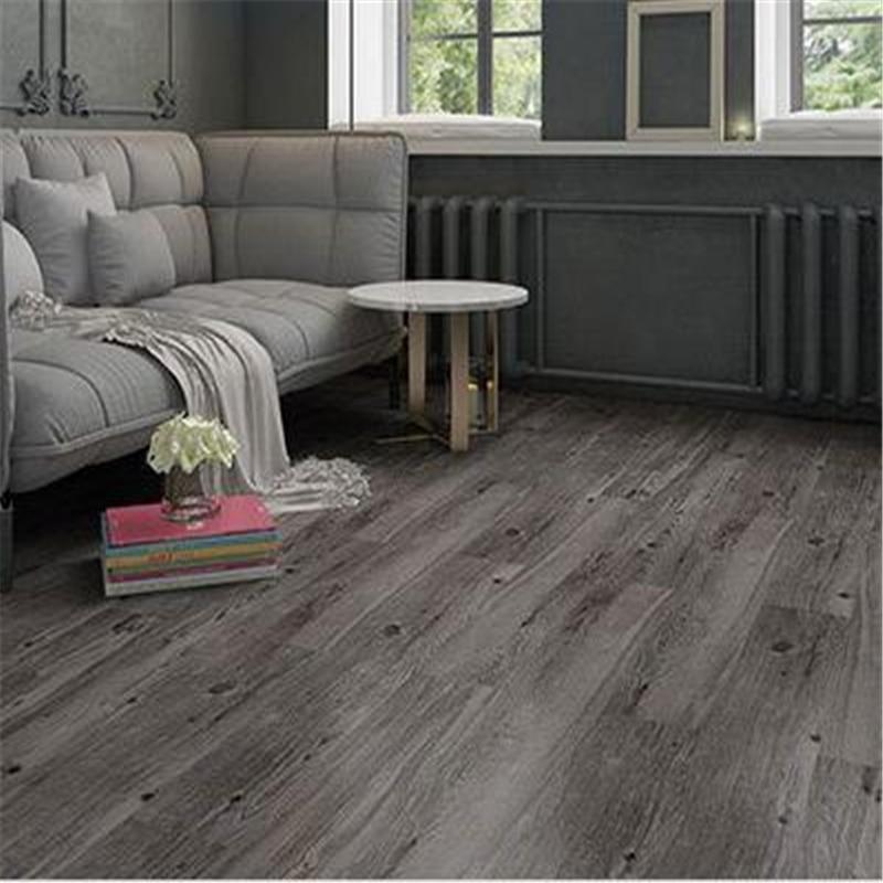 beibehang Self adhesive pvc floor wood grain stone thick wear resistant household furry room plastic floor leather