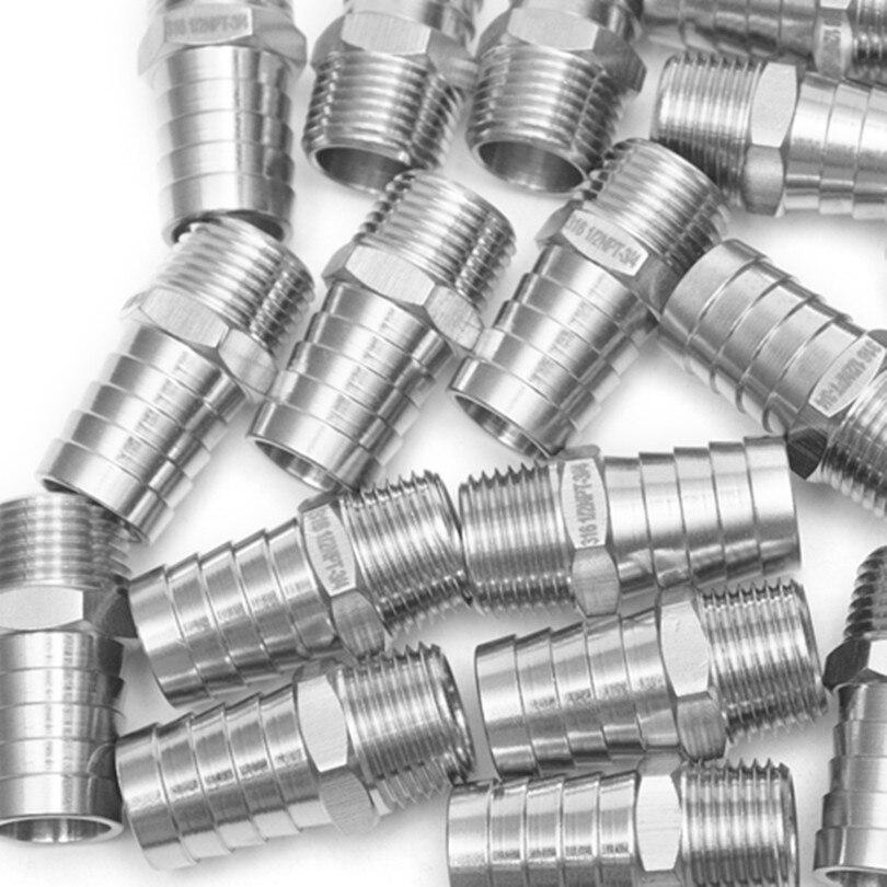 Production de barres de montage en acier inoxydable 316 raccord de raccord/connecteur 3/4