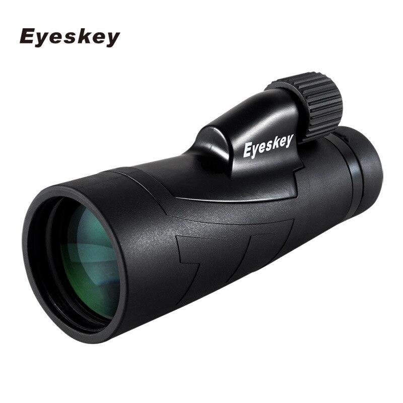 12x50 Monoculaire Eyeskey Optique Monoculaire Étanche Qualité pour La Chasse Télescope Haute Puissance Monoculaire avec BaK4 Prisme Optique