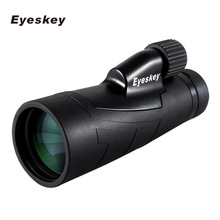 Best price 12×50 Monocular Eyeskey Optics Waterproof Monocular Quality for Hunting Telescope High Power Monocular with BaK4 Prism Optics