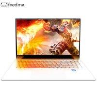 Laptop 15.6 inch 8GB RAM 128GB/256GB/512GB 1TB HDD 1080P IPS Screen Windows 10 PRO Full Layout Keyboard WiFi BT Notebook Webcab