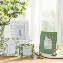 Pantanal Series Freshing Leavf Pattern Photo Frame for Desk