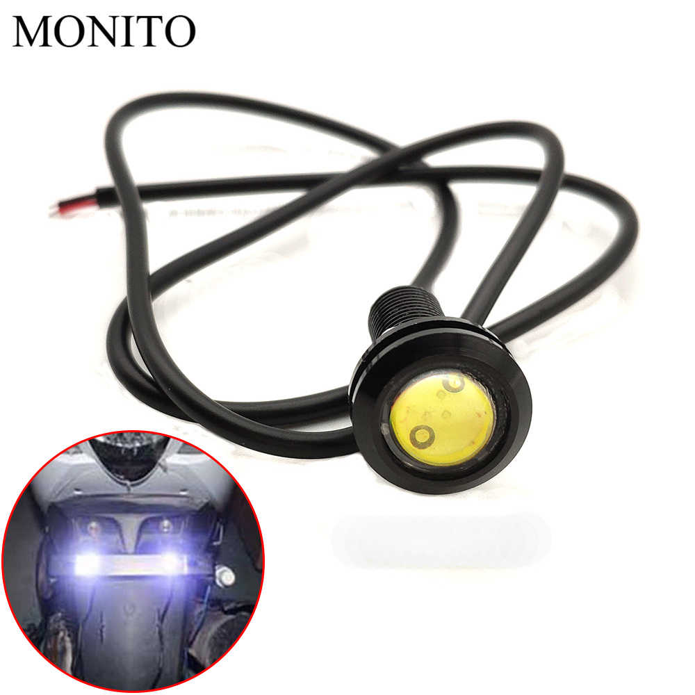 2019 Motorcycle Eagle Eye LED Strobe Light DRL Daytime Running Signal Lamps For YAMAHA WR450F WR250R WR250X WR450 SEROW 225 250