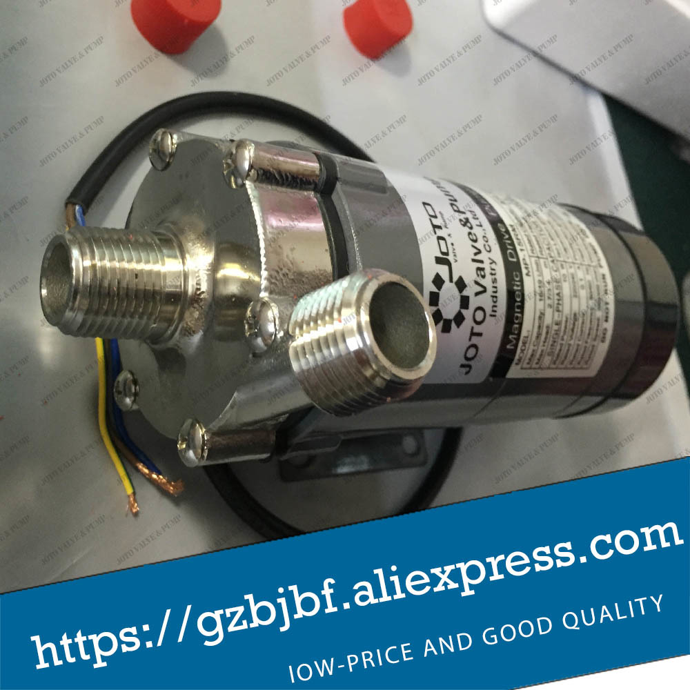 220V Electric Brewed Beer Magnetic Pump with Stainless Steel Head