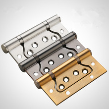 100x75 mm Stainless Steel Flush Metal Door Hinge Hardware Glass