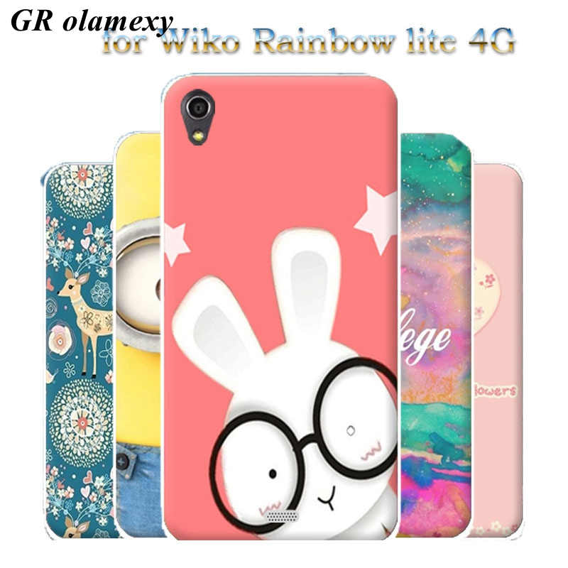GR olamexy Drawing Paint Shell Covers for Wiko Lenny 3 max 5.5