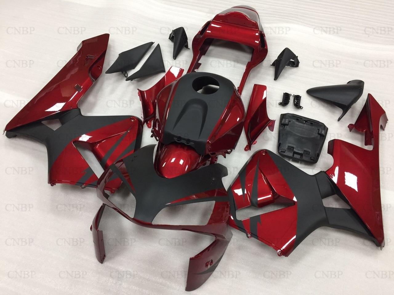 Dark Red Black Bodywork for CBR600RR CBR600 CBR 600 RR 2003 2004 03 04 Fairing Body Kit for honda cbr 600 rr 2003 2004 injection abs plastic motorcycle fairing kit bodywork cbr 600rr 03 04 cbr600rr cbr600 rr cb18