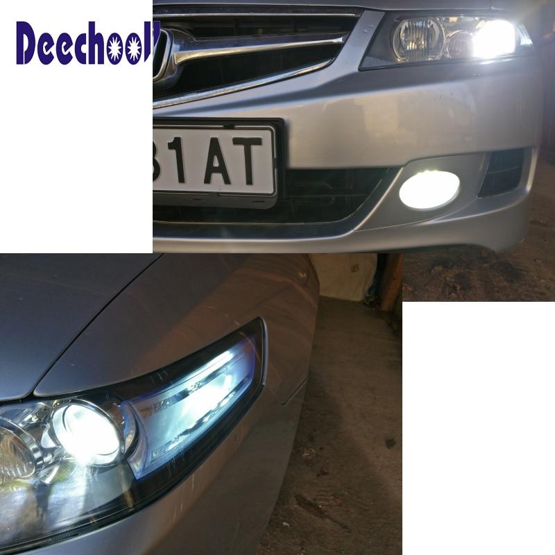 8 Blubs Xenon White LED Dome Interior Light Kit For 2012-2016 SsangYong Rexton