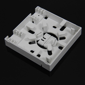 Image 2 - Panel de enchufe de fibra óptica SC FTTH, panel terminal de fibra óptica, caja de conexiones, tipo 86, 10 unids/lote