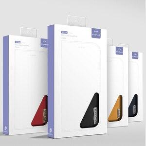 Image 5 - DUX DUCIS אמיתי עור ארנק מקרה עבור iPhone 8 7 Xs בציר מגנטי Flip כיסוי עבור iPhone Xs Max XR X 7 8 6s 6 בתוספת Coque