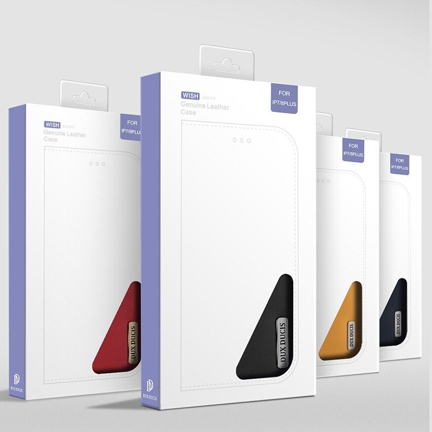 Image 5 - DUX DUCIS Чехол кошелек из натуральной кожи для iPhone 8 7 Xs винтажный Магнитный флип чехол для iPhone Xs Max XR X 7 8 6s 6 Plus Coque-in Чехлы-портмоне from Мобильные телефоны и телекоммуникации