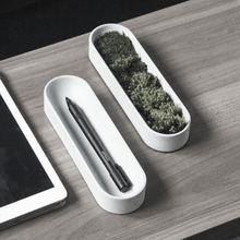 Silikon betonformen zement aufbewahrungsbox multifunktionale behälterform tischhalter form silikagel formen beton