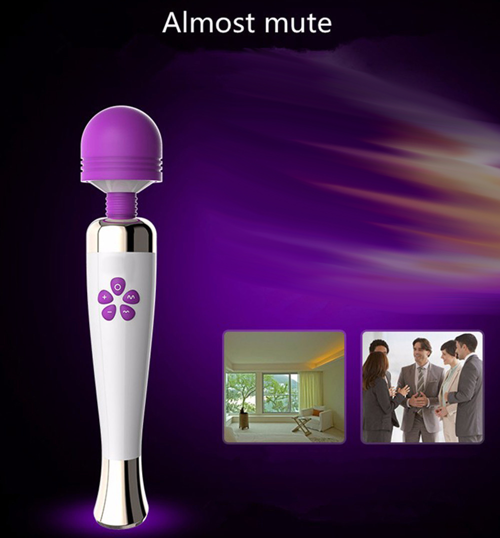 USB Rechargeable Magic Big AV Wand Massager,Clitoral Vibrator,Breast Vibrators,Powerful Body Relax AV Massager,Adult Sex Toys