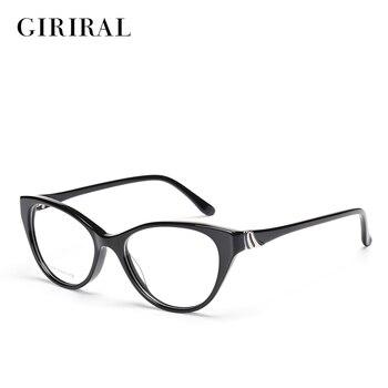 Acetate ผู้หญิงกรอบแว่นตา retro optical designer clear สายตาสั้นยี่ห้อกรอบแว่นตา # BC3797