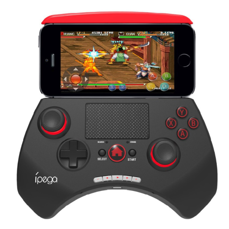 Ipega PG-9028 Bluetooth Sans Fil Game Pad Controller Gamepads Joystick Extensible Titulaire Touchpad Pour Android iOS PC Tablet