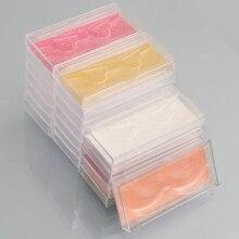 ¡Venta al por mayor! caja de embalaje de acrílico para pestañas postizas con logotipo personalizado, caja de pestañas postizas de visón 3d de 400 uds, funda de plástico transparente