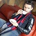 2016 новый прибыл мода дизайн повседневная шарфы Осень зима мужская Шарф Высокое Качество Теплый Шеи Модальные Шарфы Подарок NWJ069