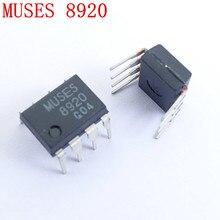 1 par MUSAS Originais 8920 Dual-op amp para ES9038 ES9018 ES9028 decoder headphone amplifier amplificador pre