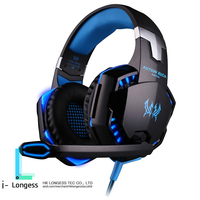 Hot Sales EACH G2000 Deep Bass Game Surrounded Over Ear Game Stereo Headsets With Mic And