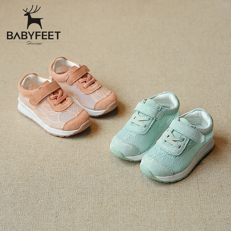 Babyfeet children's shoes girls casual shoes 1-3 years old baby shoes spring and autumn new children's shoes non-slip Very trend
