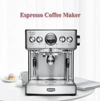 19Bar Итальянский Эспрессо Коммерческая кофе машина полуавтоматическая бытовой пароочиститель молоко пена с пузырями 2.1L Кофе Maker TSK 1837B