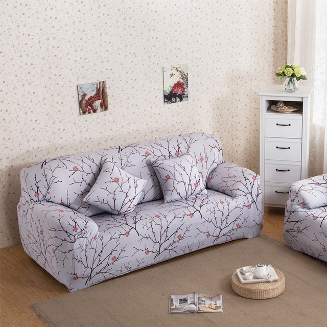 Inight 100 Polyester Sofa Cover 2018 New Europe Printed Fl Two Seater