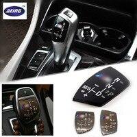 3D ABS M Motorsport Gear Shift Knob Sticker Cover For BMW X1 X3 X5 X6 M3