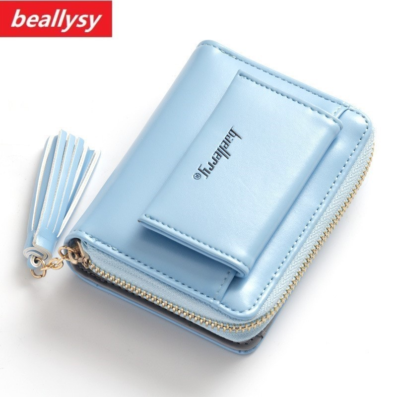 2018 NEW Short Tassel Women's Wallets Lady Mini Card Holder Wallet Female Credit Card Coin Purse Brand 3 Fold Small Wallet new fashion small lady wallets coin purse lady with card holder vintage women wallet short mini purse best gift for friend500835