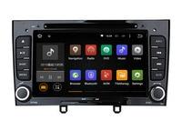 Глянцевый черный Фортепиано 2Din Android 7.1 автомобиль DVD GPS для Peugeot 408 308 308SW с Wi Fi 3 г BT Радио стерео USB SD бесплатно последняя карта