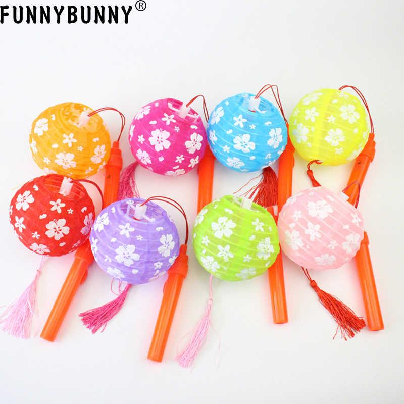 Regalos Para Ninos Pequenos.Mini Linternas Portatiles Luminosas Para Ninos Funnybunny Pequenos Regalos De Mano Flor De Cerezo