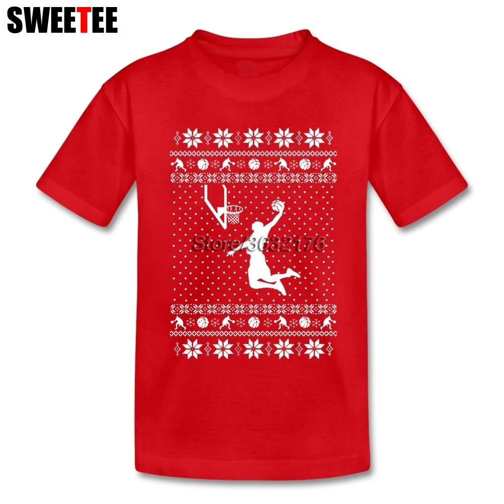 1916d5845cb Basketball Merry Christmas T Shirt Kids Short Sleeve Tshirt Children Tee  Shirt 2018 For Sale T-shirt For Boys Girls Santa Claus