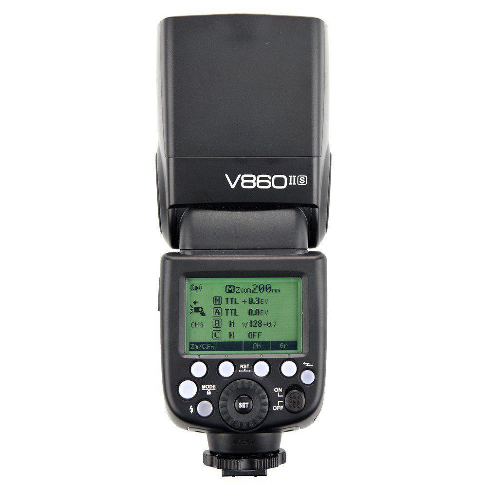 Godox V860IIS Pionnering TTL Li-ion caméra Flash GN60 1/8000 s HSS 2.4G X système Speedlite pour Sony A77II A7RII A7R A58 ILCE6000L