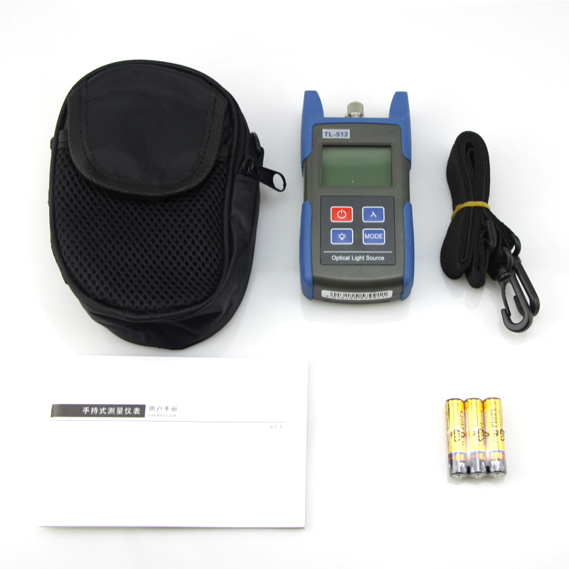 Free Shipping Handheld Mini TL512 Optical Light Source Singlemode 1310/1550nm Free Shipping Handheld Mini TL512 Optical Light Source Singlemode 1310/1550nm
