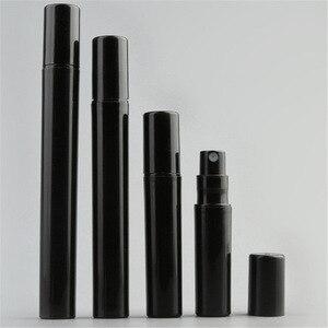 Image 3 - 100pcs/lot 2ml 3ml 4ml 5ml Pink White Black Clear Plastic Perfume Spray Bottle Sample Mist Sprayer Atomizer Perfume Bottle