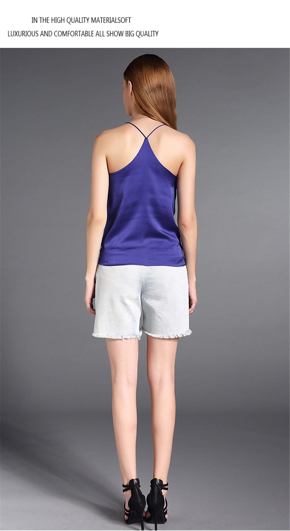 Plus Size S-4XL Multiple Women Tank Tops Brand Silk Blending Sleeveless Tshirt Women Female Shirt Smooth Blouse Blusas Femininas (18)
