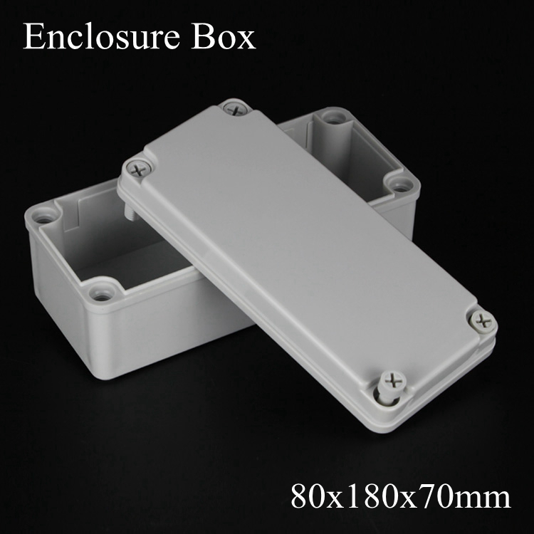 180*80*70MM IP67 New ABS electronic enclosure box  Distribution control network cabinet switch junction outlet case 80x180x70MM 175 175 100mm ip67 abs electronic enclosure box distribution control network cabinet switch junction outlet case 175x175x100mm