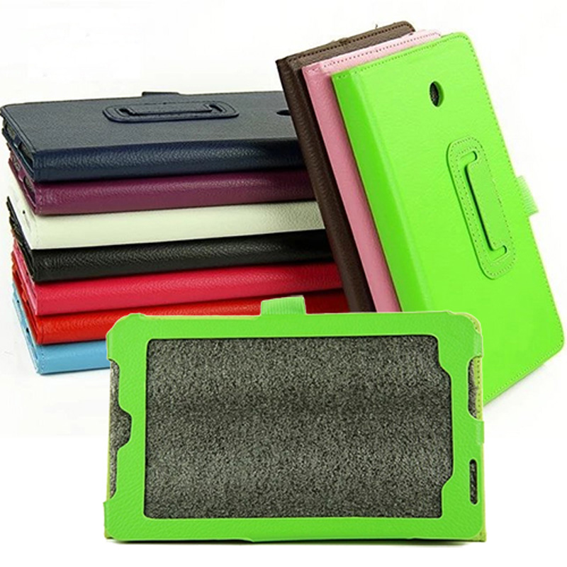 2-Folding Luxury Folio Stand Leather Case Magnetic Protective Cover For ASUS FonePad HD 7 ME372 ME372CL ME372CG K00E K00Y 7 new 2 folder luxury magnetic folio stand