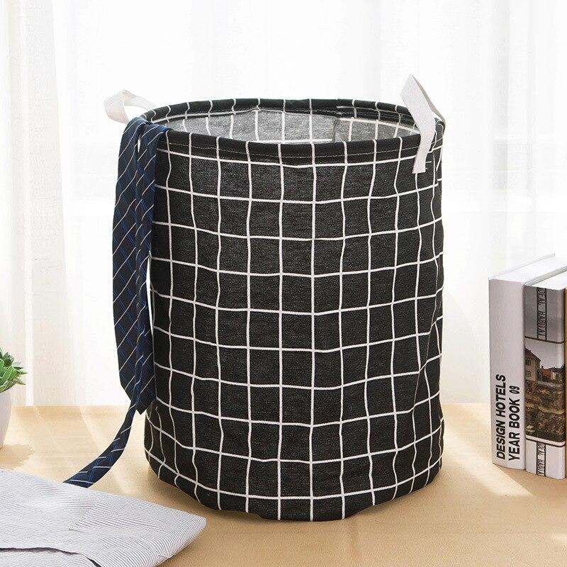 Folding Storage Basket Laundry Basket Storage 40 50cm Large Basket For Toy Washing Dirty Clothes Sundries